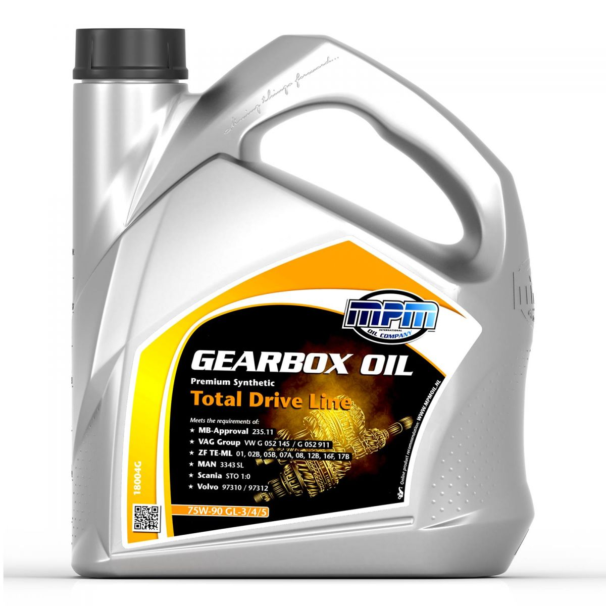 mpm premium gearbox oil 75w90 gl 3 4 5 fully synthetic tdl 4l total drive line ebay. Black Bedroom Furniture Sets. Home Design Ideas